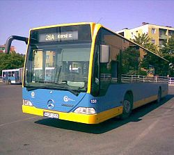 Number 26A bus in Pécs.jpg