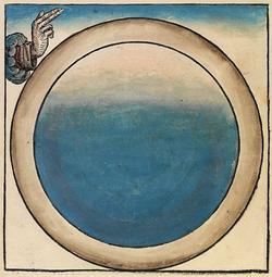 El Primer Día de la Creación (de las Crónicas de Nuremberg, 1943)
