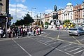 O'Connell Monument and pedestrian crossing.jpg