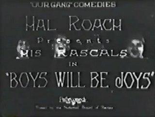 <i>Boys Will Be Joys</i> 1925 film
