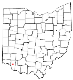 Location of Batavia, Ohio