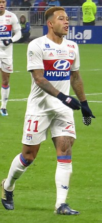 Image illustrative de l'article Memphis Depay