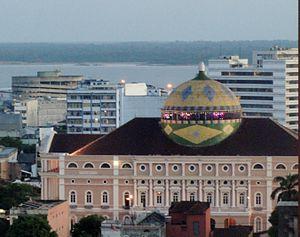 Amazonas Philharmonic - O Teatro Amazonas in Manaus, Brazil.