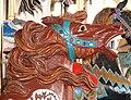 Oaks Park carousel horse head - Portland Oregon.jpg
