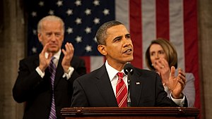 President Barack Obama gives his State of the ...