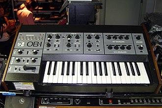 Oberheim Electronics - Image: Oberheim OB 1
