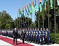 Official welcome ceremony was held for President of Turkmenistan Gurbanguly Berdimuhamedow 9.jpg