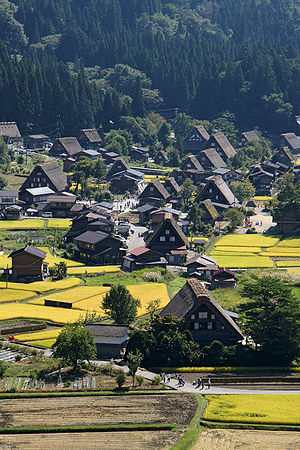 Gifu Prefecture - Traditional Housing in Shirakawa-gō