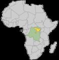 Okapi Geographic Range Map-Africa.png