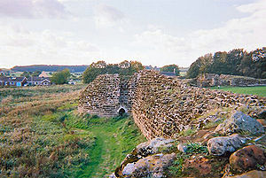 Ranulf de Blondeville, 6th Earl of Chester - The ruins of Bolingbroke Castle, built by Ranulf