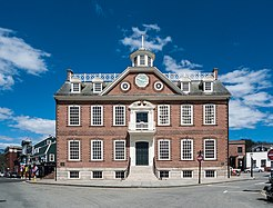 Old Colony House in Newport