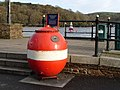 Old WWII mine on Town Quay in Fowey - geograph.org.uk - 1584865.jpg