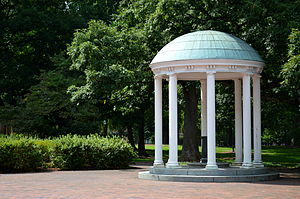 University of North Carolina at Chapel Hill - The Old Well, a symbol of the university, stands at the heart of campus.