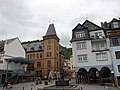 Old buildings at Zell along the Mosel river at a cloudy 25 August 2015 - panoramio.jpg