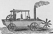 История автомобиля Википедия Первый американский автомобиль машина амфибия Оливера Эванса