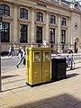 Olympic Gold Double Letter Box, Cheltenham Spa - geograph.org.uk - 3123137.jpg