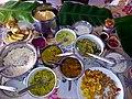 Onam Sadya, Festive feast India 2013.jpg