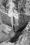 ontgravingen in toren-portaal - geertruidenberg - 20075838 - rce