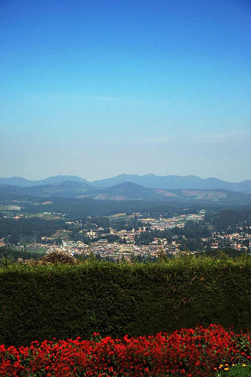 Ooty, India a scenic beauty