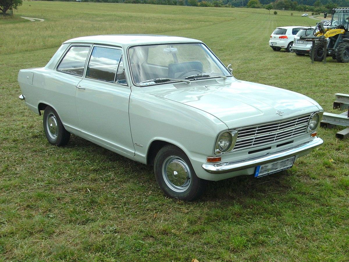 Station Wagon Car >> Opel Kadett B - Wikipedia