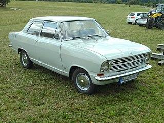 Opel Kadett B Motor vehicle