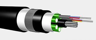 Optical fiber cable - A multi-fiber cable