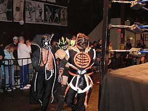 UltraMantis Black - (Left to right) UltraMantis Black, Hydra and Crossbones of the Order of the Neo–Solar Temple