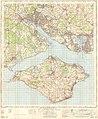 Ordnance Survey One-Inch Sheet 180 The Solent, Published 1966.jpg