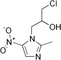 Ornidazole structure.png