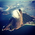 Orographic Cloud at Sugar Loaf - Rio de Janeiro, Brazil.JPG
