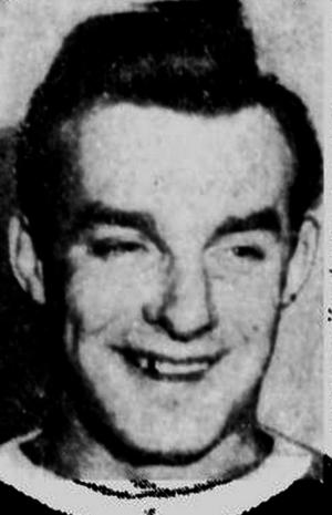 Oscar Aubuchon - Aubuchon pictured in a 1943 newspaper