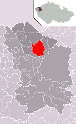 Location of Ostrov