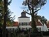 foto van Oudenborg, belangrijk restant van een rechthoekige woontoren, van kolenzandsteen, keien en tufsteen