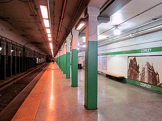 MBTA subway station