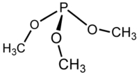 Struktur von Trimethylphosphit