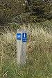Pæl der viser vej på Nordsøstien.jpg