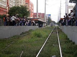 Pasay Road railway station - Station platform of Pasay Road station