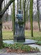 POL Warsaw bem monument Łazienki