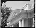 PORTICO ENTABLATURE AND PEDIMENT - Gilroy Free Public Library, 195 Fifth Street, Gilroy, Santa Clara County, CA HABS CAL,43-GIL,3-4.tif