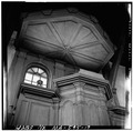 PULPIT AND SOUNDING BOARD - Old Ship Church, 88 Main Street, Hingham, Plymouth County, MA HABS MASS,12-HING,5-31.tif
