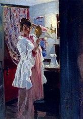 Interiør med Marie Krøyer