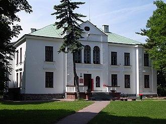 Józefów nad Wisłą - Image: Pałac w Józefowie nad Wisłą