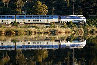<i>Pacific Surfliner</i> railway line
