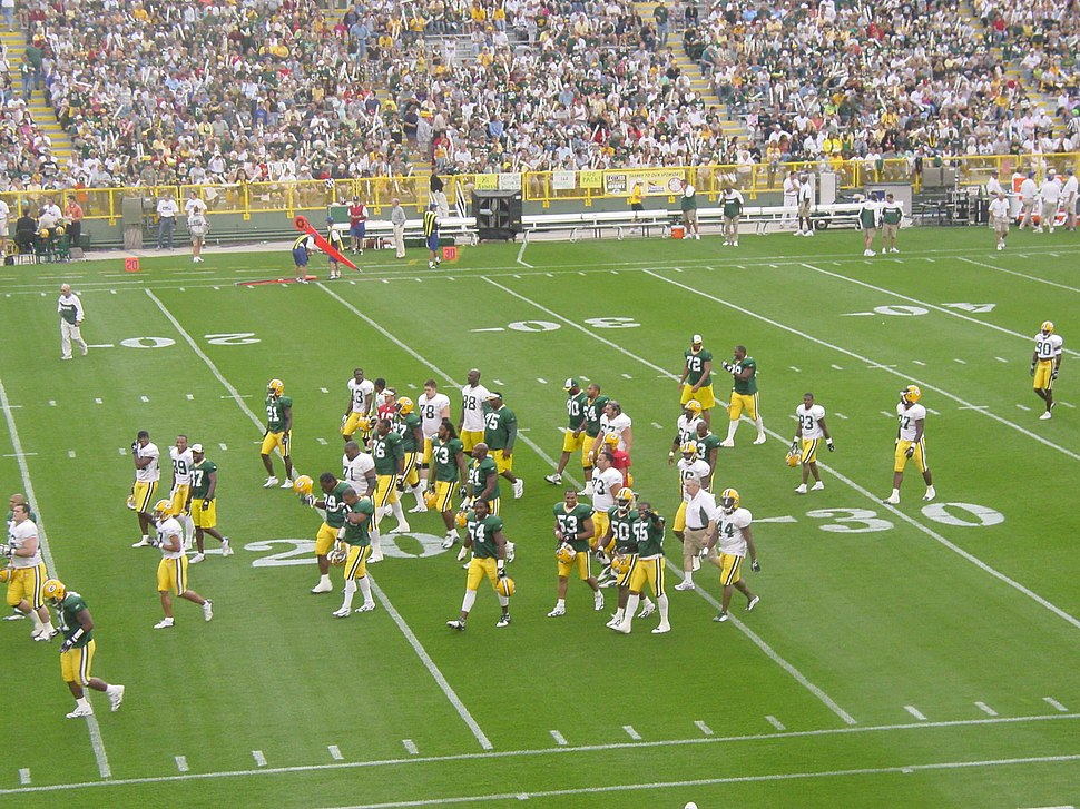 Packers leave the field in 2004