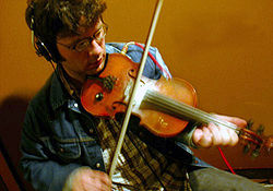 Newfoundland fiddle player Patrick Moran