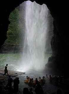 Pagsanjan Falls waterfall