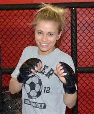 Paige VanZant - VanZant in 2012, prior to her first amateur bout