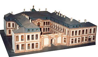 Palais Thurn und Taxis - Model of the original Palais Thurn und Taxis