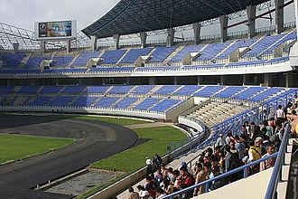 North Kalimantan - Image: Palaran Main Stadium Samarinda