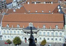 Panorama of the palace